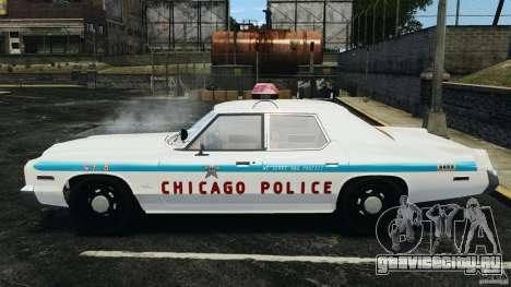 Dodge Monaco 1974 Police v1.0 [ELS] для GTA 4 вид слева