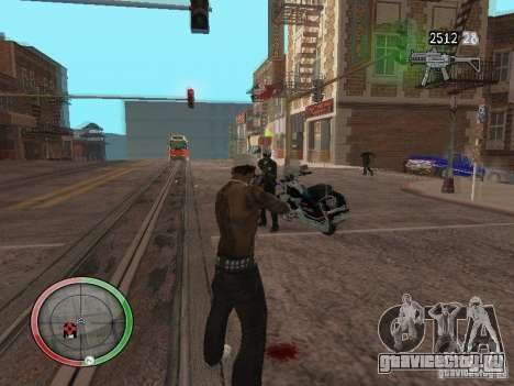 GTA IV HUD v4 by shama123 для GTA San Andreas третий скриншот