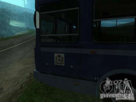 ЛиАЗ 5256-25 для GTA San Andreas вид сбоку