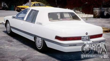 Buick Roadmaster Sedan 1996 v1.0 для GTA 4 вид справа