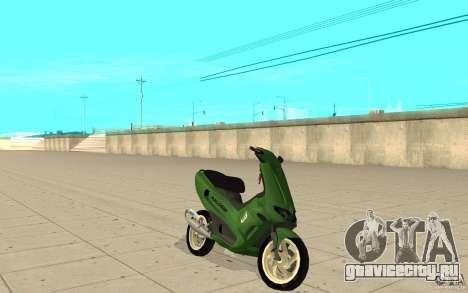 Gilera Runner 50SP Skin 4 для GTA San Andreas