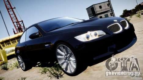 BMW M3 E92 для GTA 4 салон