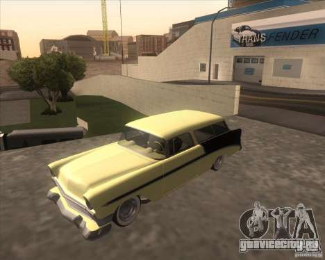 Chevrolet Bel Air Nomad 1956 custom для GTA San Andreas