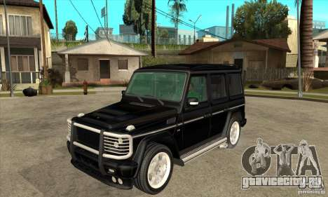 Brabus B11 W463 2008 v1.0 для GTA San Andreas