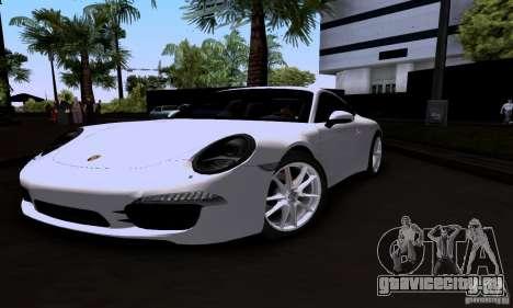 Porsche 911 Carrera S для GTA San Andreas