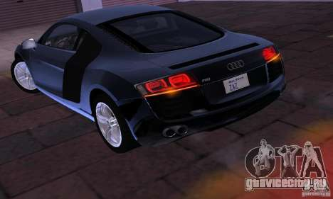 Audi R8 4.2 FSI для GTA San Andreas вид справа