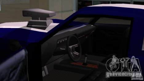 New Phoenix для GTA San Andreas вид сзади слева