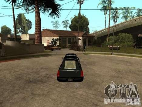 Cadillac DTS 2008 для GTA San Andreas вид сзади слева