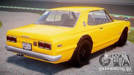 Nissan Skyline 2000 GT-R для GTA 4
