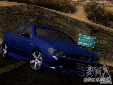Ford Falcon для GTA San Andreas вид сзади слева