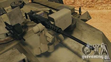 M1A2 Abrams для GTA 4 вид снизу