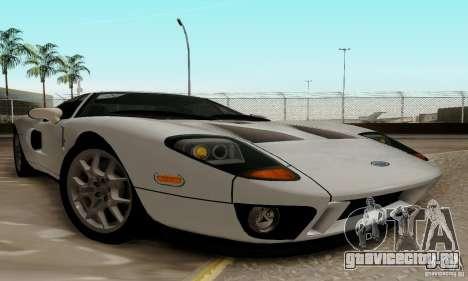 Ford GT 2005 для GTA San Andreas вид сзади слева