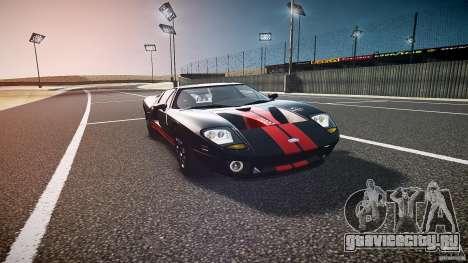 Ford GT1000 2006 Hennessey [EPM] STREET BURNING для GTA 4 вид сзади