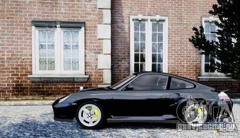 Porsche 911 Turbo S для GTA 4 вид сзади слева