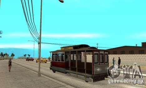 Tram для GTA San Andreas