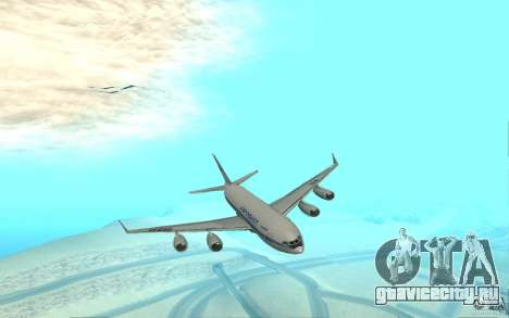 ИЛ-96 для GTA San Andreas вид слева