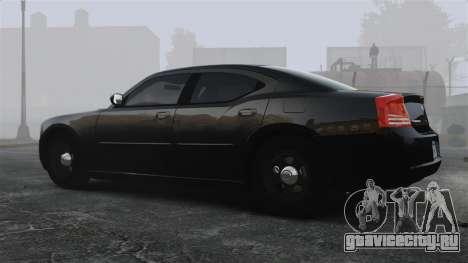 Dodge Charger RT Hemi FBI 2007 для GTA 4 вид слева