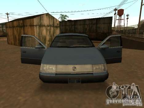 Mercury Sable GS 1989 для GTA San Andreas вид справа