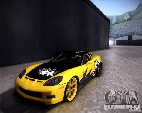 Chevrolet Corvette C6 super promotion для GTA San Andreas