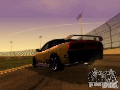 Nissan 240sx Street Drift для GTA San Andreas вид сзади слева