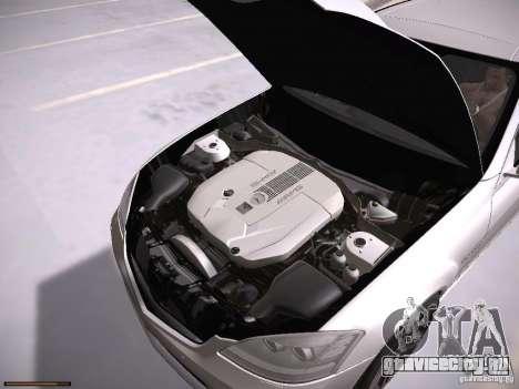 Mercedes Benz S65 AMG 2012 для GTA San Andreas вид сзади