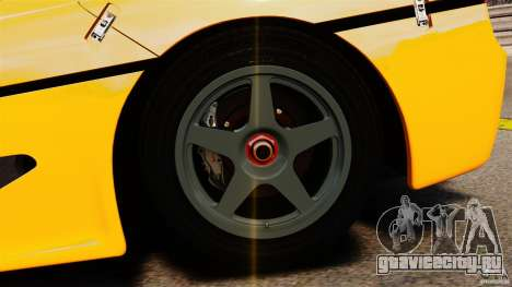 Ferrari F50 GT 1996 для GTA 4 вид сбоку