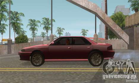New Sultan HD для GTA San Andreas вид слева
