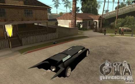Batmobile Tas v 1.5 для GTA San Andreas вид справа