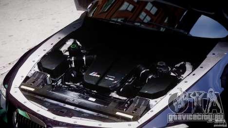 BMW M6 Orange-Black Bullet для GTA 4 вид сзади