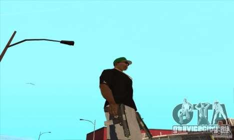 WEAPON BY SWORD для GTA San Andreas одинадцатый скриншот