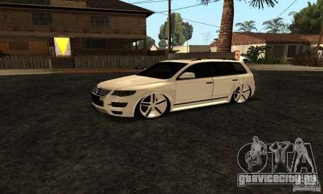 Volkswagen Touareg Dag Style для GTA San Andreas вид справа