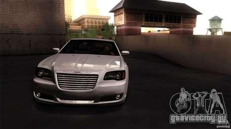 Chrysler 300C V8 Hemi Sedan 2011 для GTA San Andreas вид сзади слева