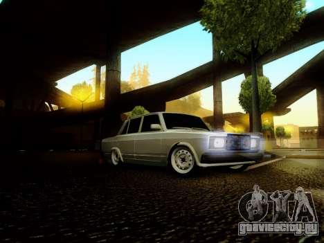 ВАЗ 2107 для GTA San Andreas вид слева
