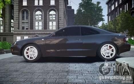 Toyota Celica GT-FOUR для GTA 4 вид слева