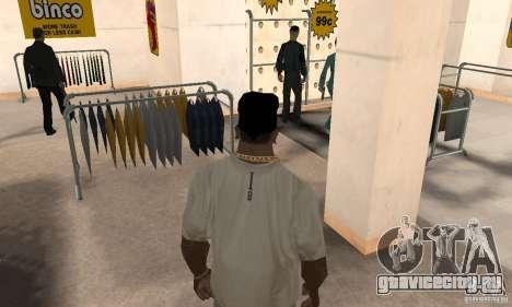 Бандана batman для GTA San Andreas третий скриншот