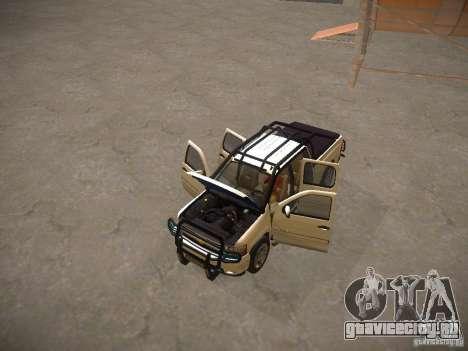 Chevrolet Silverado для GTA San Andreas вид сверху