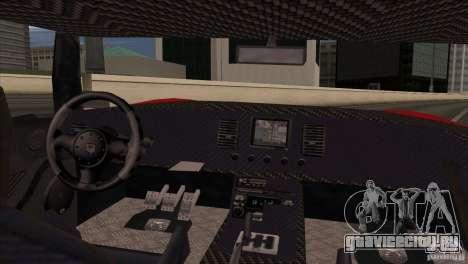 Bullet HD для GTA San Andreas вид сзади слева