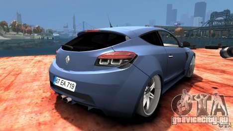 Renault Megane Coupe для GTA 4 вид справа