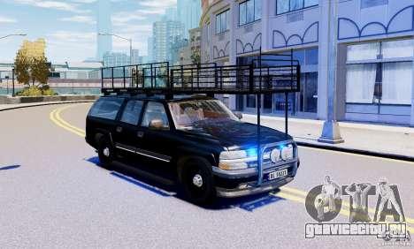Chevrolet Suburban 2003 Norwegian SWAT Edition для GTA 4