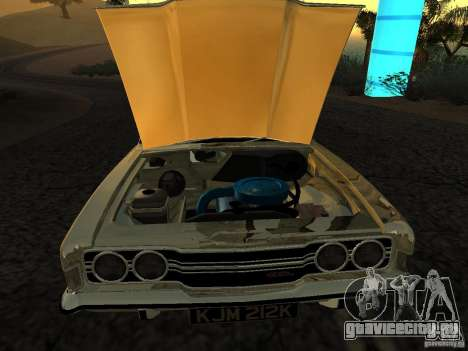 Ford Cortina MK 3 Life On Mars для GTA San Andreas вид сзади слева
