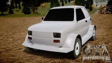 Fiat 126p Bis Rally для GTA 4