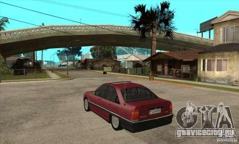 Opel Omega A для GTA San Andreas вид сзади слева