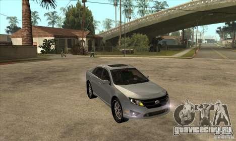 Ford Fusion V6 DUB 2011 для GTA San Andreas