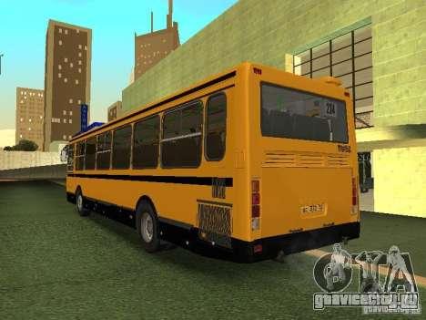 ЛиАЗ 5256.26-01 для GTA San Andreas вид сзади слева