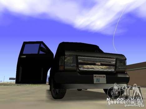 Burrito HD для GTA San Andreas вид слева