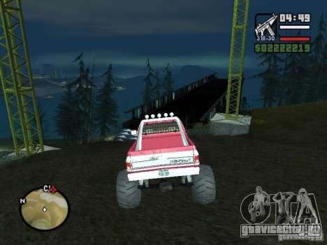 Monster tracks v1.0 для GTA San Andreas третий скриншот