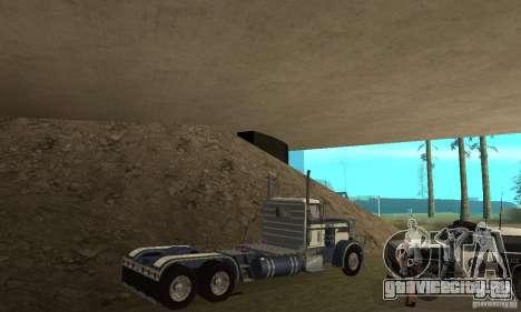 Peterbilt 359 1978 для GTA San Andreas вид сверху