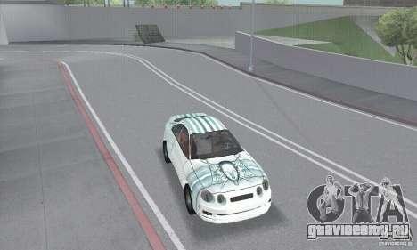 Toyota Celica GT4 2000 для GTA San Andreas вид сбоку