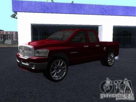 Dodge Ram 1500 v2 для GTA San Andreas вид справа