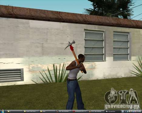 Молот из Assassins Creed Brotherhood для GTA San Andreas второй скриншот